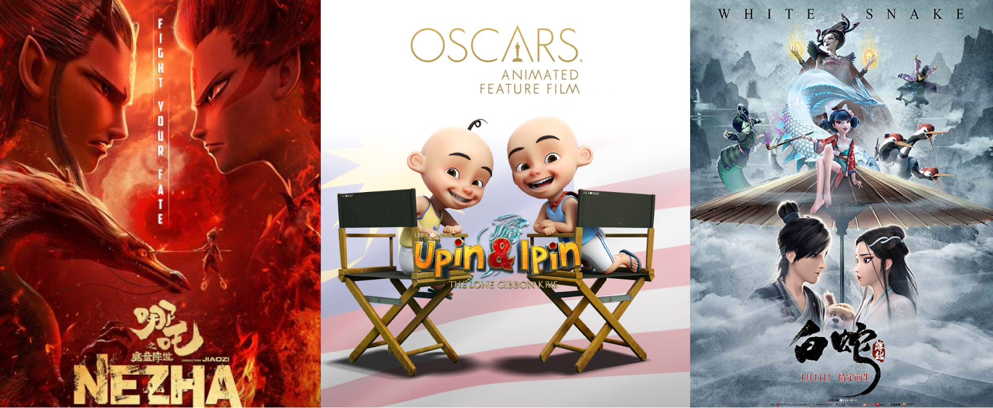 'Ne Zha' and 'Upin & Ipin' Officially in Running for 2020 Oscar Nomination!