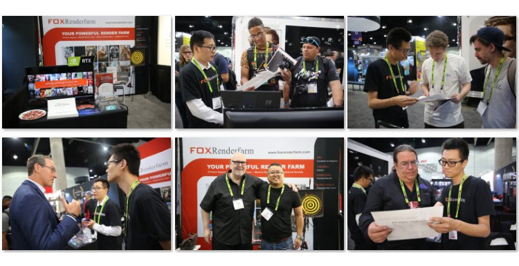 Fox Renderfarm at SIGGRAPH 2019 - Newsletter