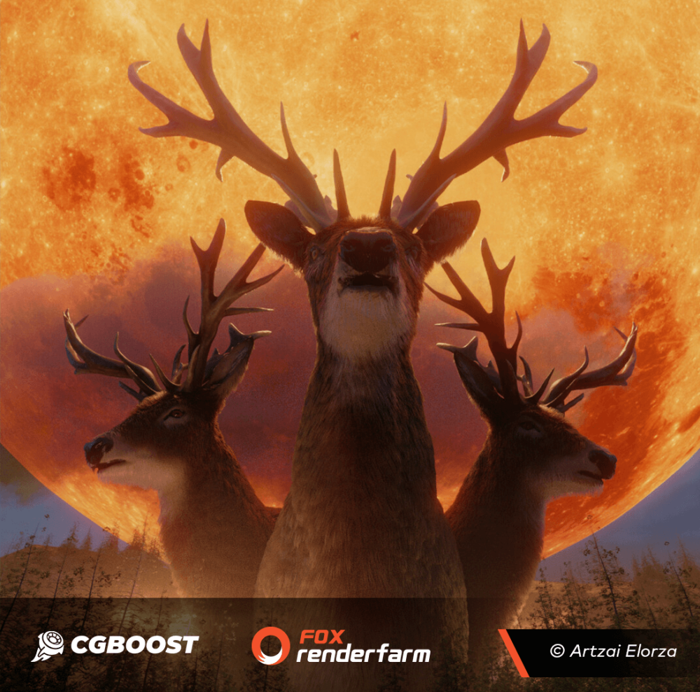 Deer The king of the forest - CG BOOST