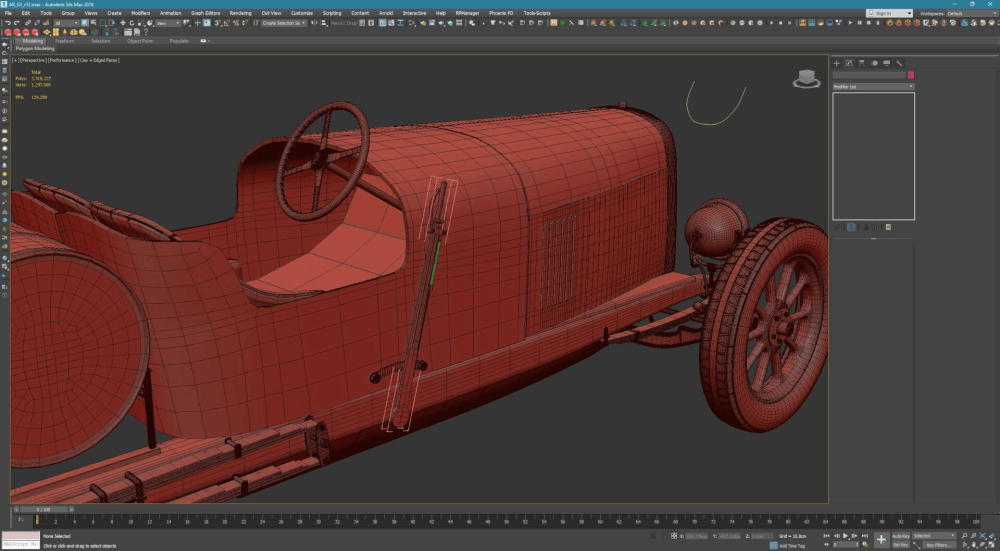 How To Create A Nostalgic Alfa Romeo Racing Car With 3ds Max -2