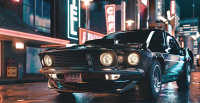 Making an Eye-catching Vintage Mustang Look Strong and Smart in 3ds Max