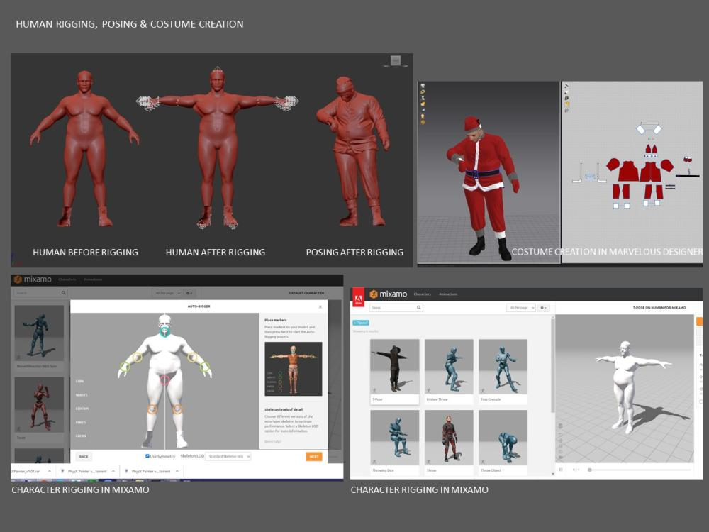 Creating a Simple But Powerful Santa in 3ds Max-6