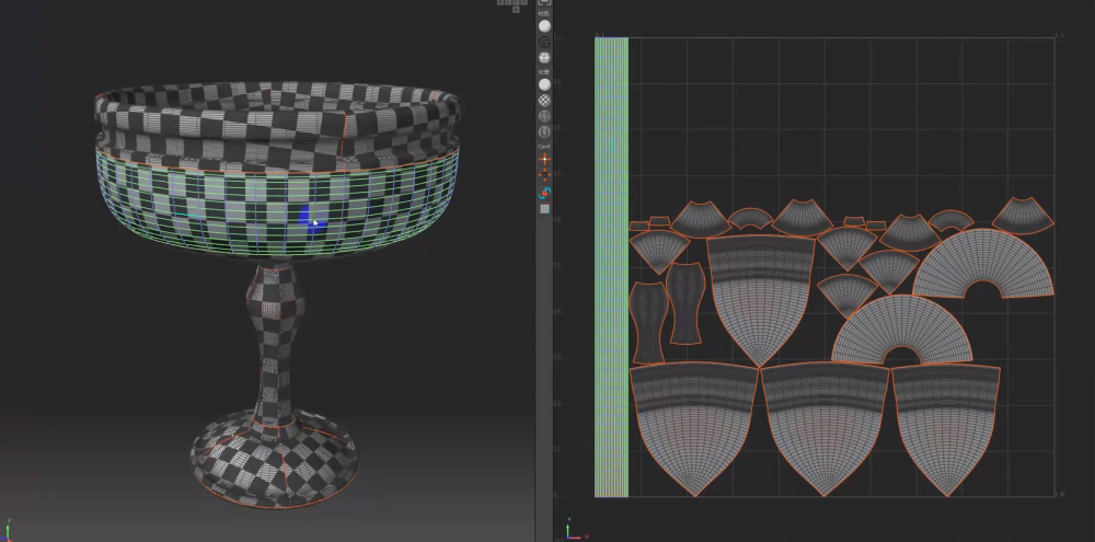 Octane for Cinema 4D Tutorial Making Cups and Grapes 7