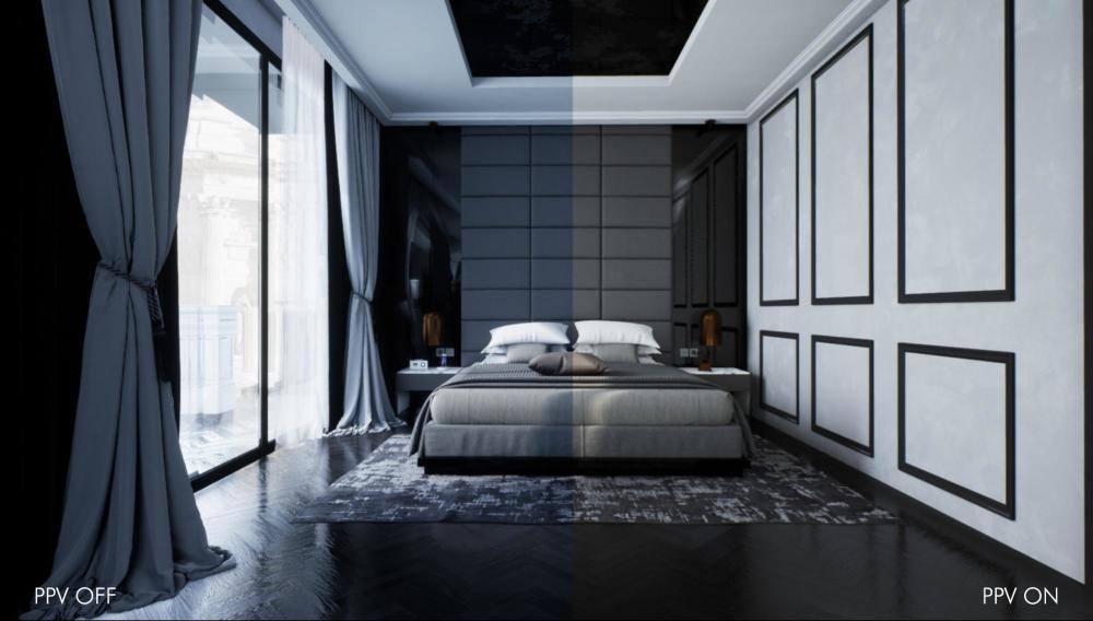 post process volume - the Master Bedroom created by Jesús Gómez San Emeterio