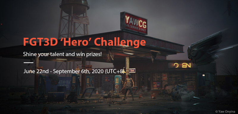 FGT3D 'Hero' Challenge Is Online NOW!