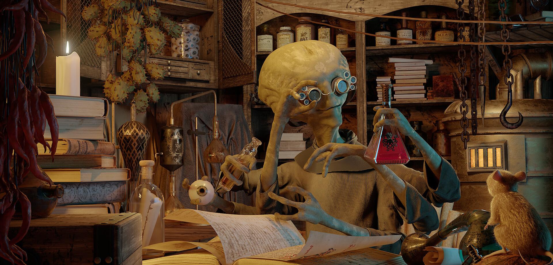 The Alchemist - Peshang Ahmed