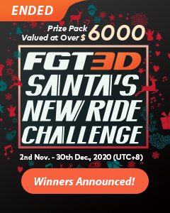 FGT3D Santa's New Ride Challenge