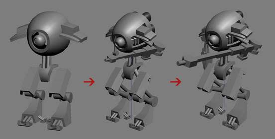 V-Ray for 3ds Max Tutorial How To Create a Sniper Robot -1