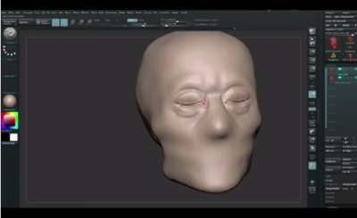 How to Sculpt Facial Features in ZBrush(2)