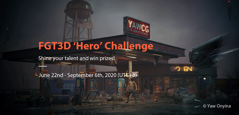 Call For Submissions: FGT3D 'Hero' Challenge