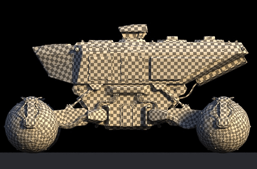 Space invider © Yuri Kozhevnikov - UV Mapping