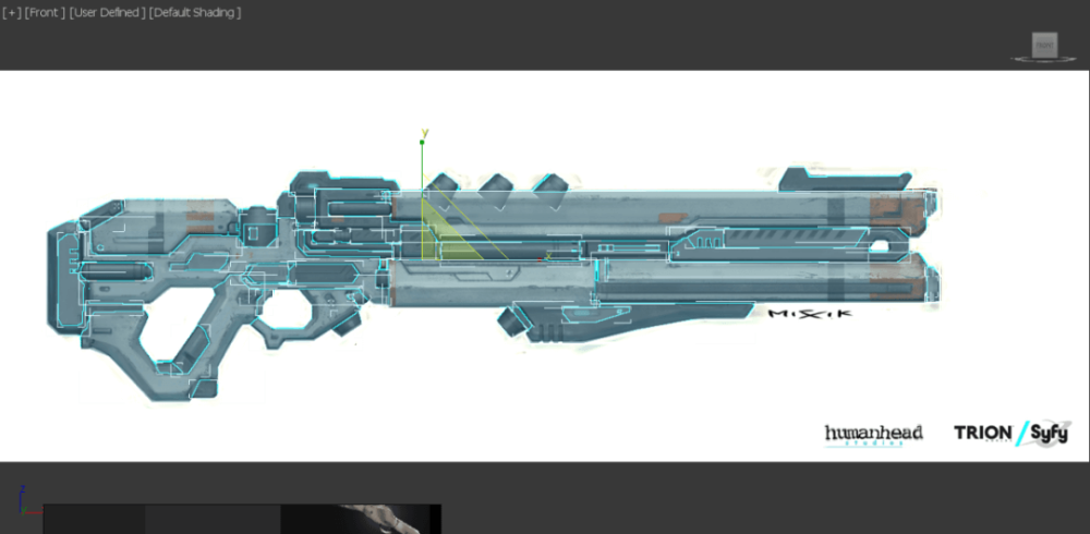 3ds Max Tutorial The Production and Sharing of Sci-Fi Guns 9