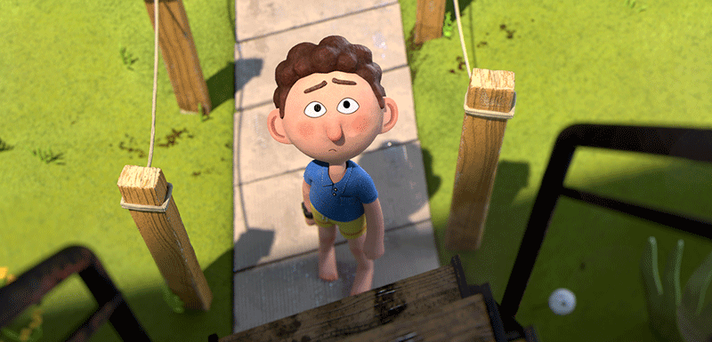 The Refreshing Israeli Indie CG Animated Film, The Slide