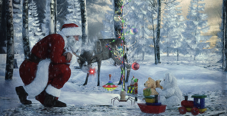 A 3D Re-creation of Classic Story of Rudolph