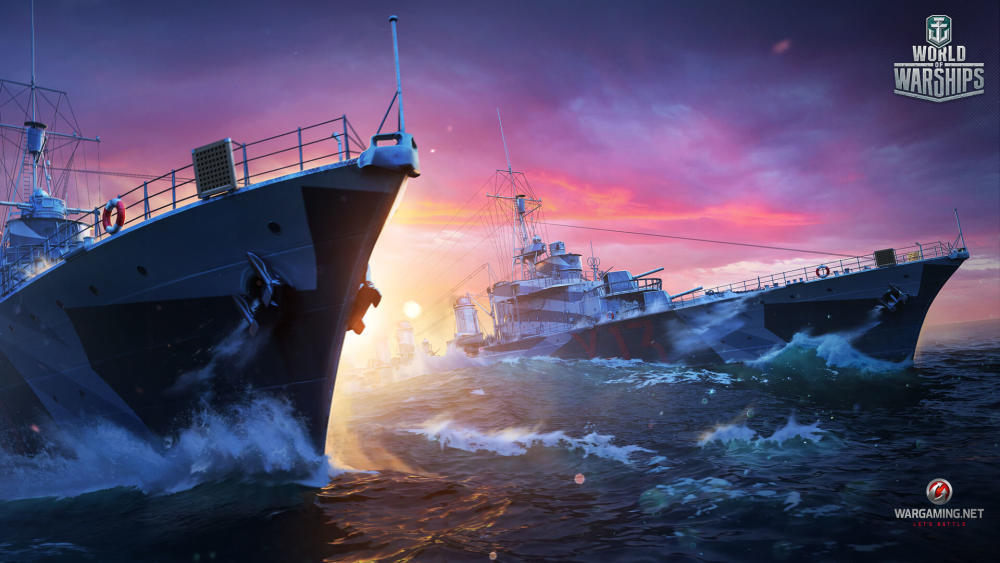 Yuri's battleships artworks for Wargaming