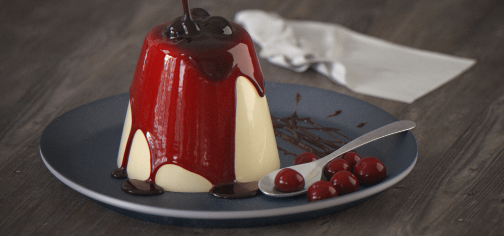 Pannacotta CGI © Iasonas Raptopoulos