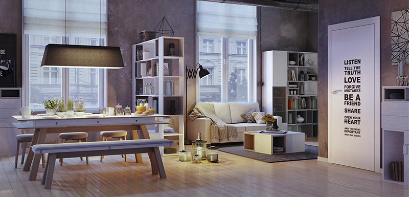 Corona for 3ds Max Tutorial: Modern Minimalist Style Loft Production Analysis