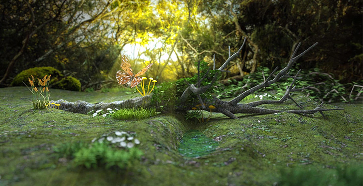 An Artwork Production Sharing By Octane For C4D
