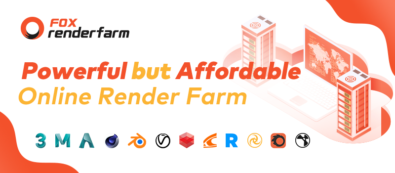 What is an online render farm?