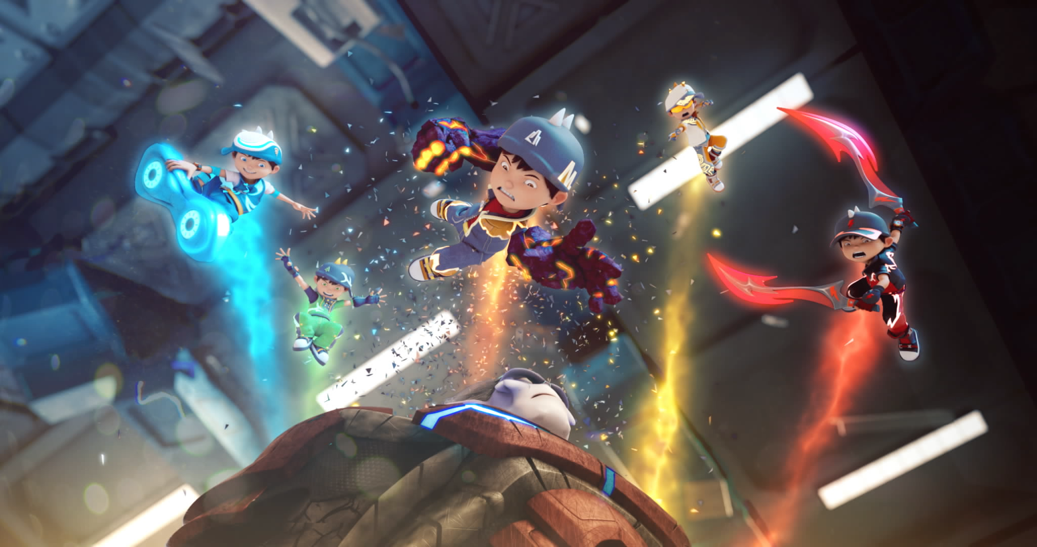 BoBoiBoy Movie 2 To Be Released In 5 Countries With Much