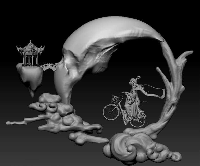 3D Modelling Tutorial of Chang e