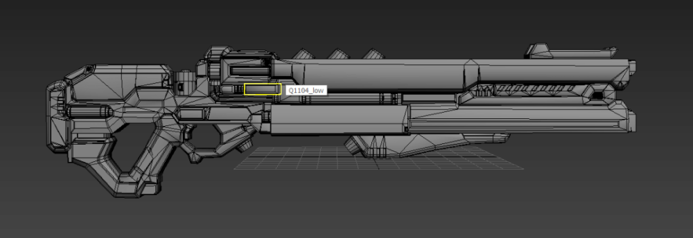 3ds Max Tutorial The Production and Sharing of Sci-Fi Guns 5