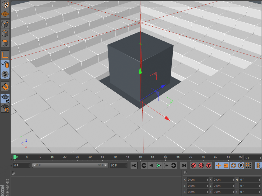 Octane For C4D Tutorial How To Make A Strange Cube (3)