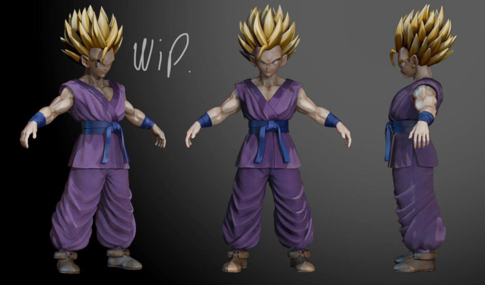 An Amazing Dragon Ball 3D Animation Project Supported By Fox Renderfarm  8