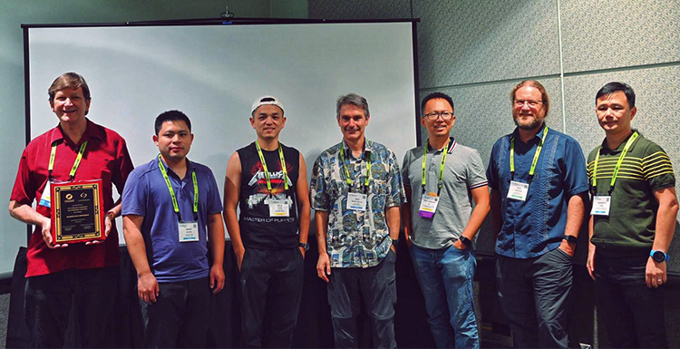 Shenzhen & Los Angeles Chapters Meetup In SIGGRAPH 2019