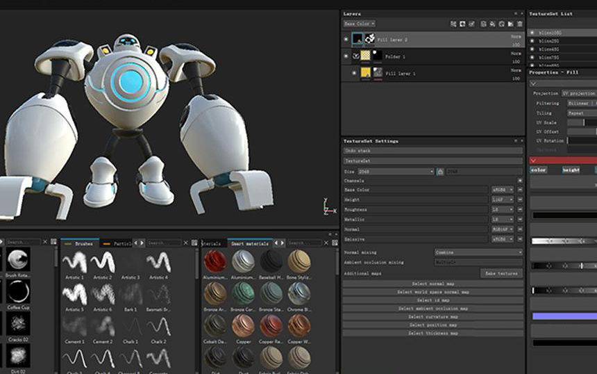 Making A Robots of League of Legends with Maya and Houdini-6