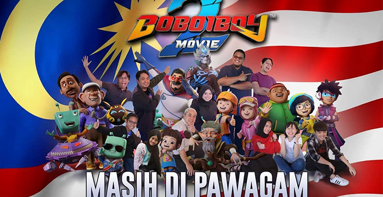 Interview with BoBoiBoy Movie 2, the Highest-grossing Animated Film in Malaysia