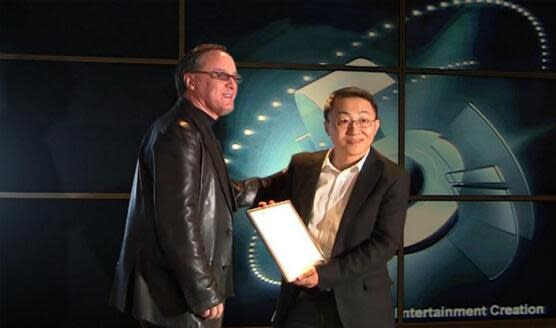 Mr. Bohong Deng was honored as 3DS MAX MASTER in 2009