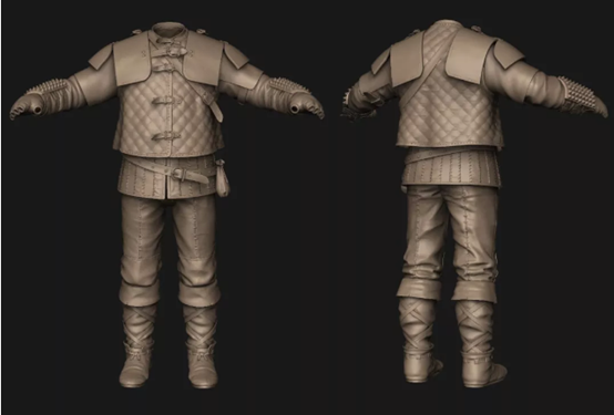 The Witcher 3 Character Model Making Process