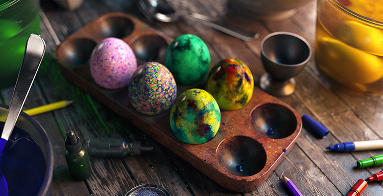 1st place - The Art of Easter Eggs