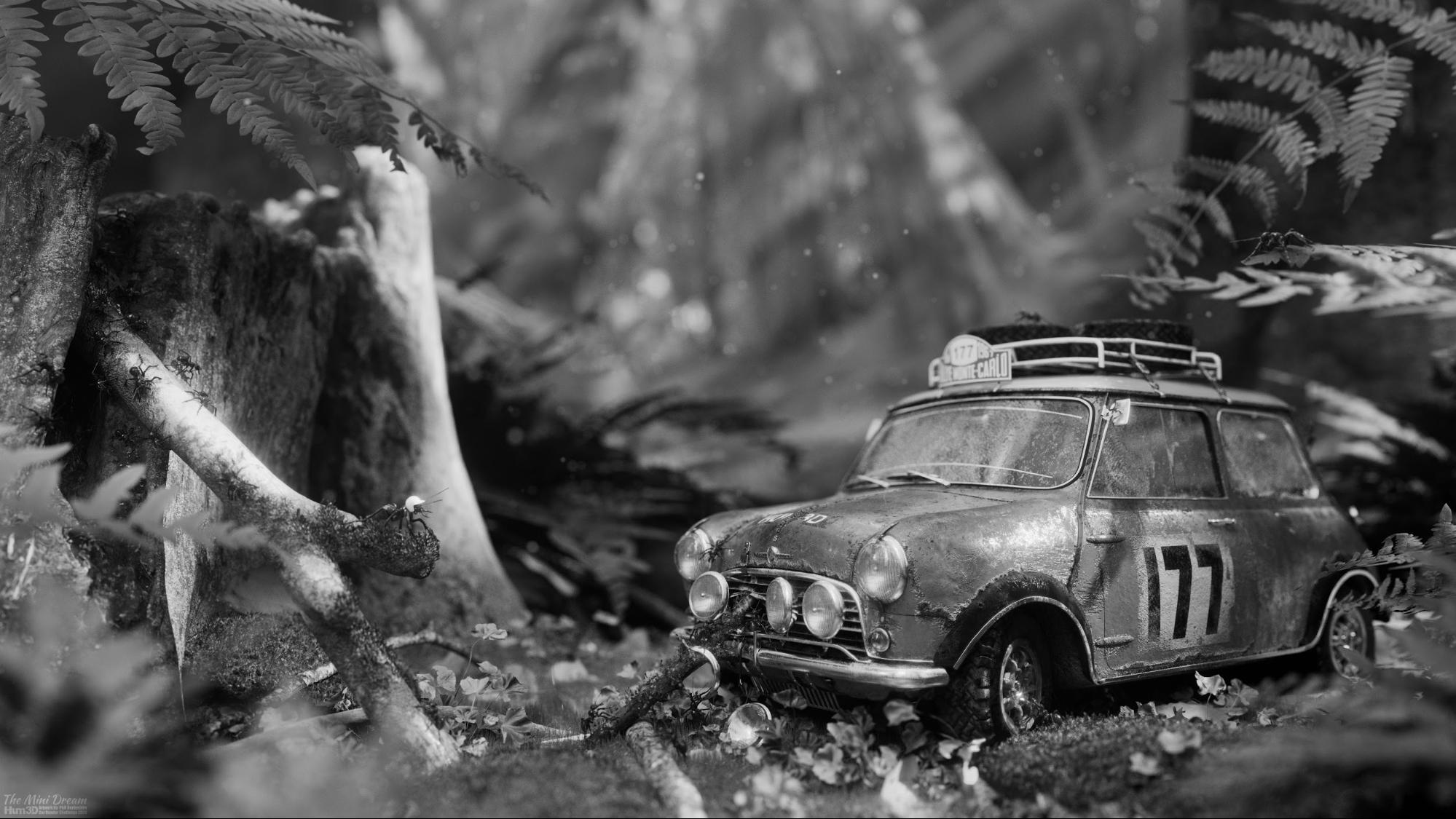 3D Artwork The Mini Dream Created by Phil Derbyshire