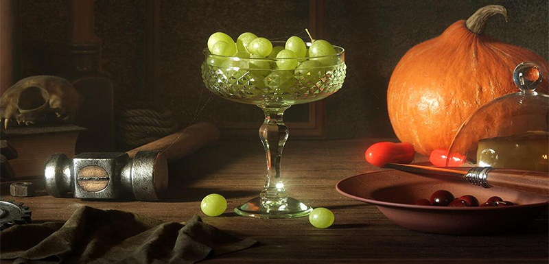 Octane for Cinema 4D Tutorials: Making Cups and Grapes (2)