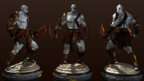 3ds Max Tutorials: Create God Of War Stylized 3D Characters(2)