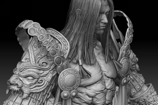 Behind the Scenes Demon Warrior Character 9