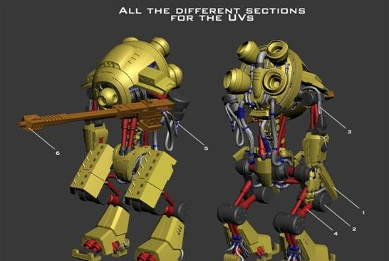 V-Ray for 3ds Max Tutorial How To Create a Sniper Robot -10