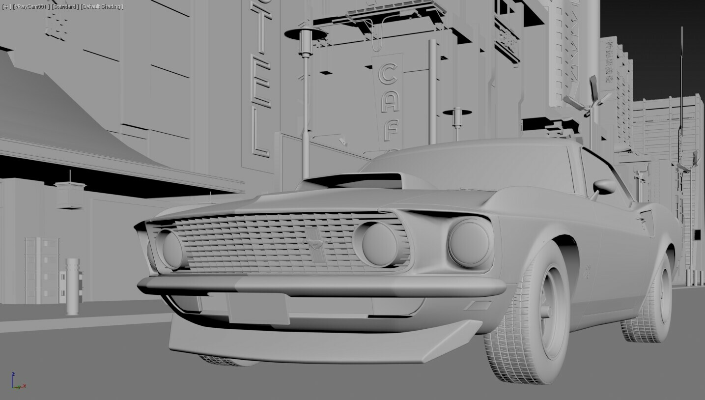 The Retro Masterpiece Modeling part 8