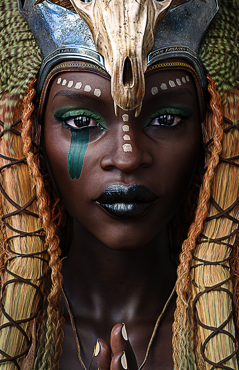 African Queen by Jennifer Killby