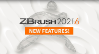 ZBrush 2021.6 With New Features Is Available Now