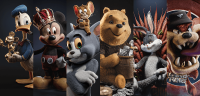 Remaking the Iconic Cartoon Characters Into Life in Maya and 3ds Max