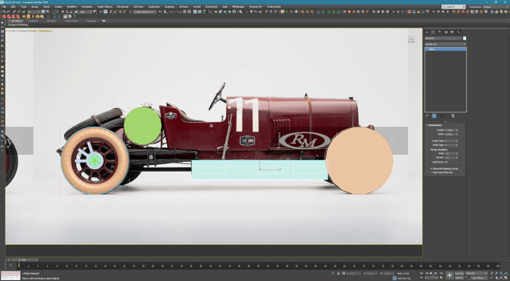 How To Create A Nostalgic Alfa Romeo Racing Car With 3ds Max -1