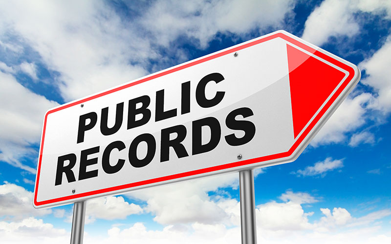 How Do Public Records Affect Your Credit?