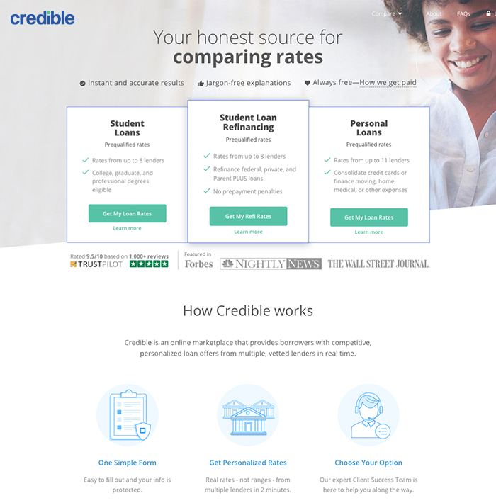 Credible Personal Loan Reviews