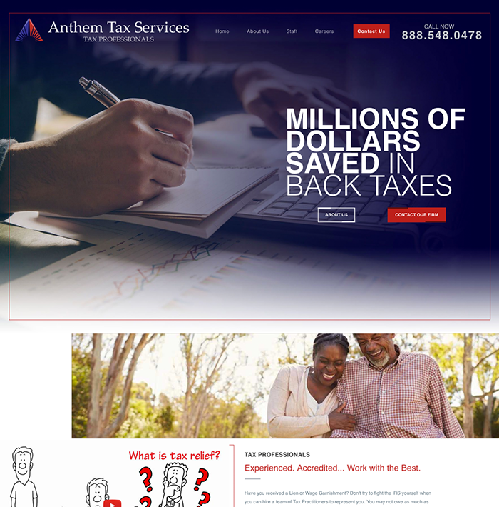 Anthem Tax Services screenshot