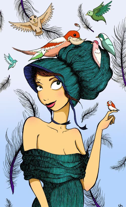 Cover Image for BIRD GIRL