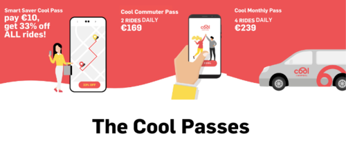 Cool Ride Pooling Passes Available