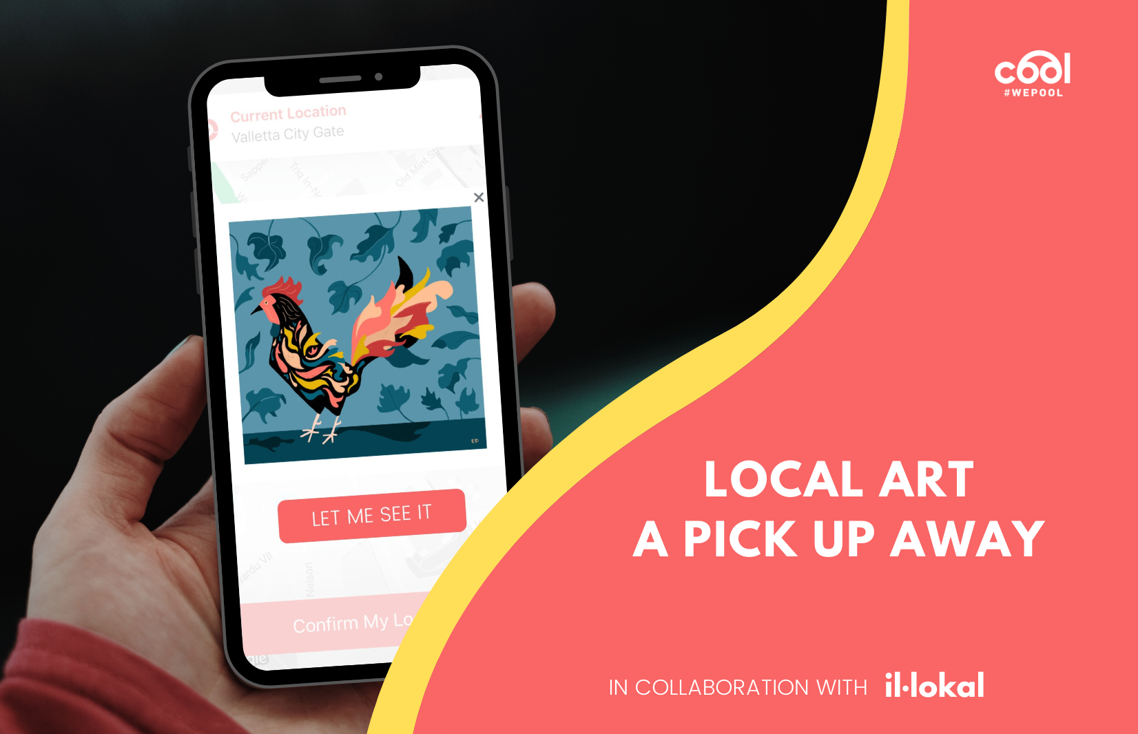 COOL and IL-LOKAL Promote Local Art with Unique Digital Exhibition